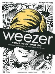weezer secret poster