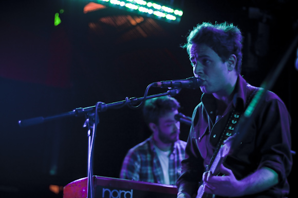 Dawes keyboardist and lead guitarist as Jason's backing band
