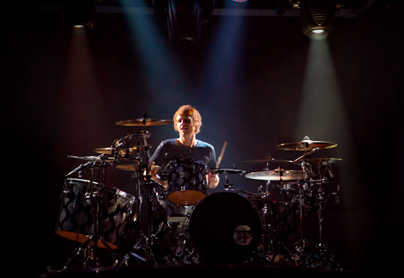 Chris Wolstenhome, drummer of Muse