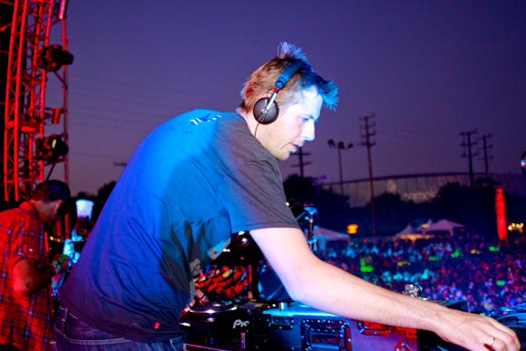 Groove Armada on the Circuit Grounds stage