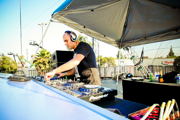 Aly and Fila at the Neon Garden Stage