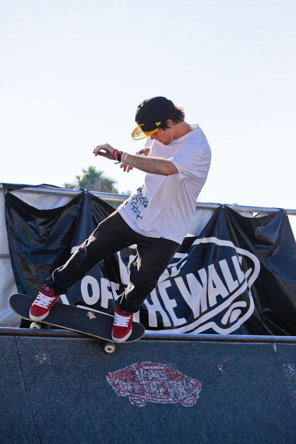 Warped Tour 2010 - mxdwn - Photo By Pamela Lin - Vans Skate Ramp