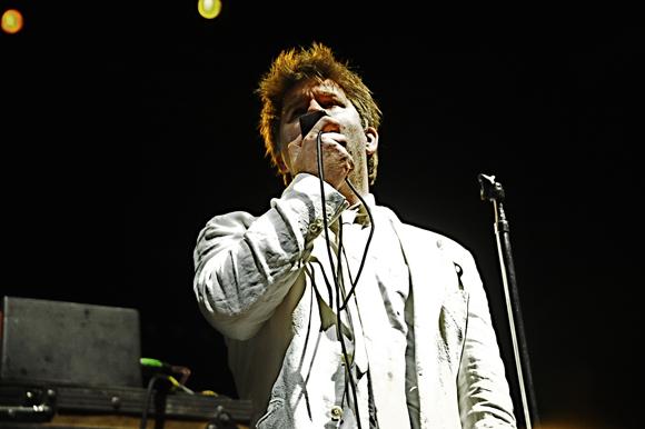 "LCD Soundsystem Cover Guns N' Roses' ""November Rain"" and David Bowie's ""Heroes"" at Coachella"