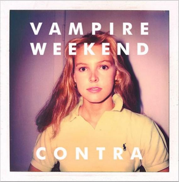Contra Album Cover Girl. Vampire Weekend – Contra