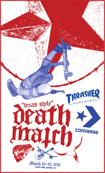 SXSW Flyer Thrasher Magazine