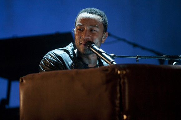 John Legend performs during VEVO Presents: G.O.O.D. Music at VEVO Power Station on March 19, 2011 in Austin, Texas.