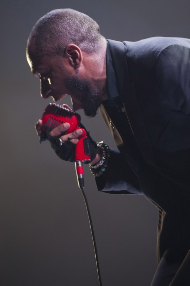 Mos Def performs during VEVO Presents: G.O.O.D. Music at VEVO Power Station on March 19, 2011 in Austin, Texas.