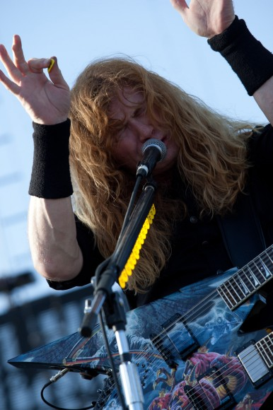 Megadeth - The Big Four 3 - Dave Mustaine