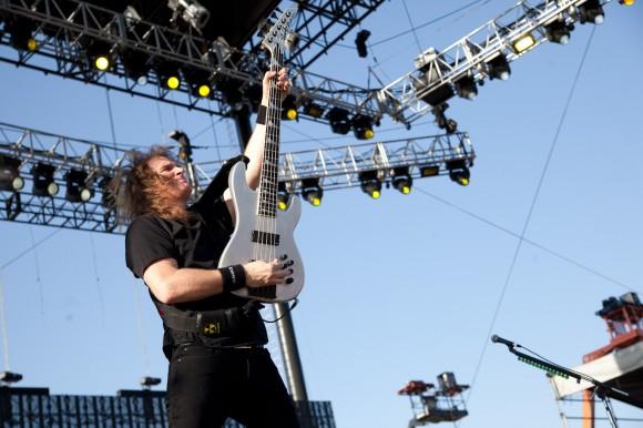 Megadeth - The Big Four 4 - David Ellefson