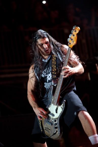 Metallica - The Big Four - Robert Trujillo