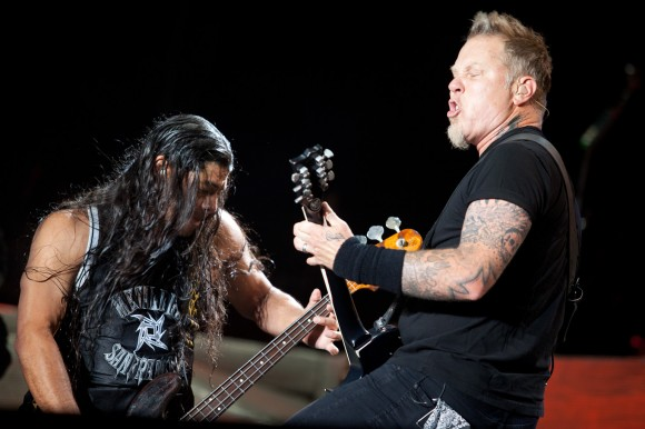 Metallica - The Big Four - Robert Trujillo and James Hetfield
