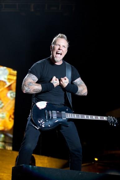 Metallica - The Big Four - James Hetfield