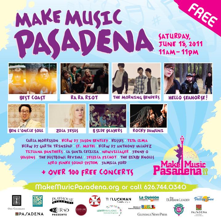 Make Music Fest Pasadena
