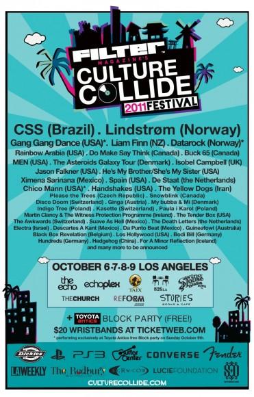 Filter Magazine Culture Collide Festival