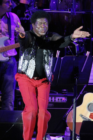 Singer Charles Bradley performs onstage at The Hollywood Bowl on July 24, 2011 in Los Angeles, California.