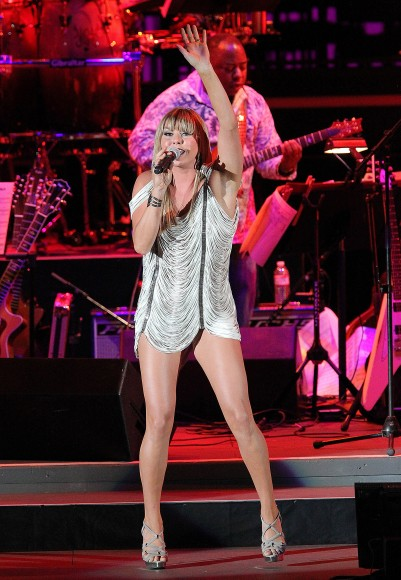 Singer Grace Potter performs onstage at The Hollywood Bowl on July 24, 2011 in Los Angeles, California.