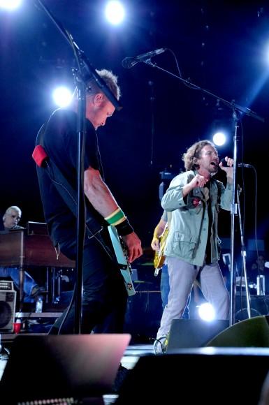 Pearl Jam performs at PJ20. Photo credit Alyssa Fried