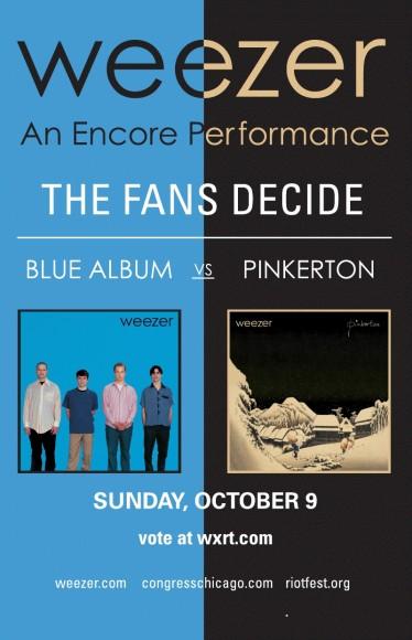The Blue Album? Or Pinkerton?
