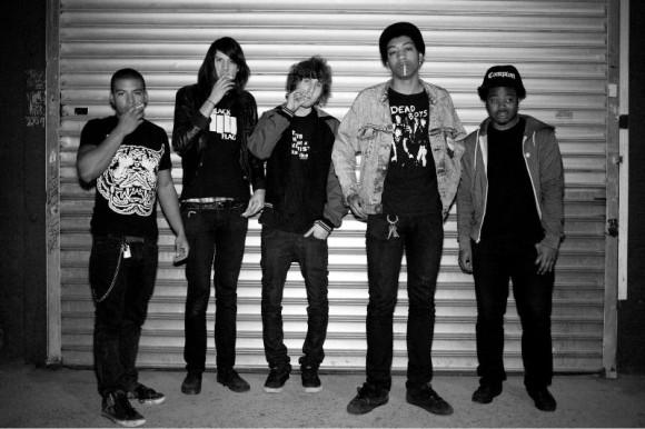 Punk group Cerebral Ballzy