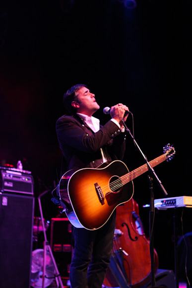 Four-piece multi-instrumental and vocal ensemble, DeVotchKa opened the Greek Show on 10/1/11