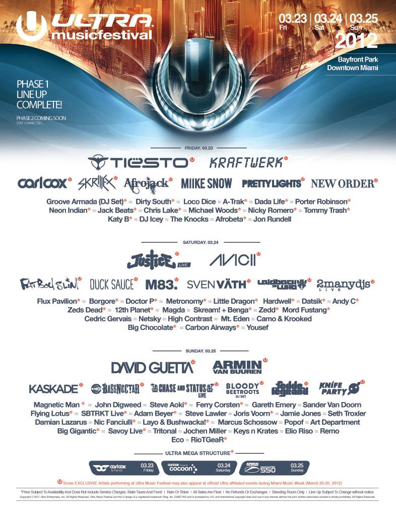 Ultra Music Festival - Mar