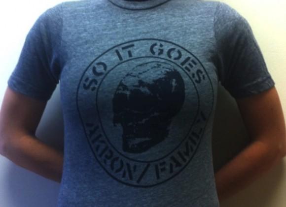 Akron/Family t-shirt