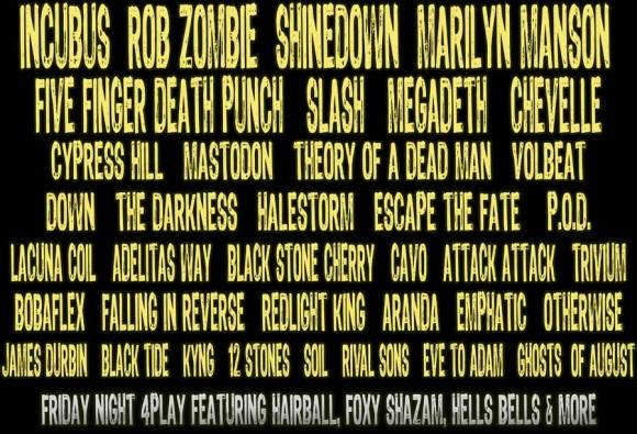 festival lineup