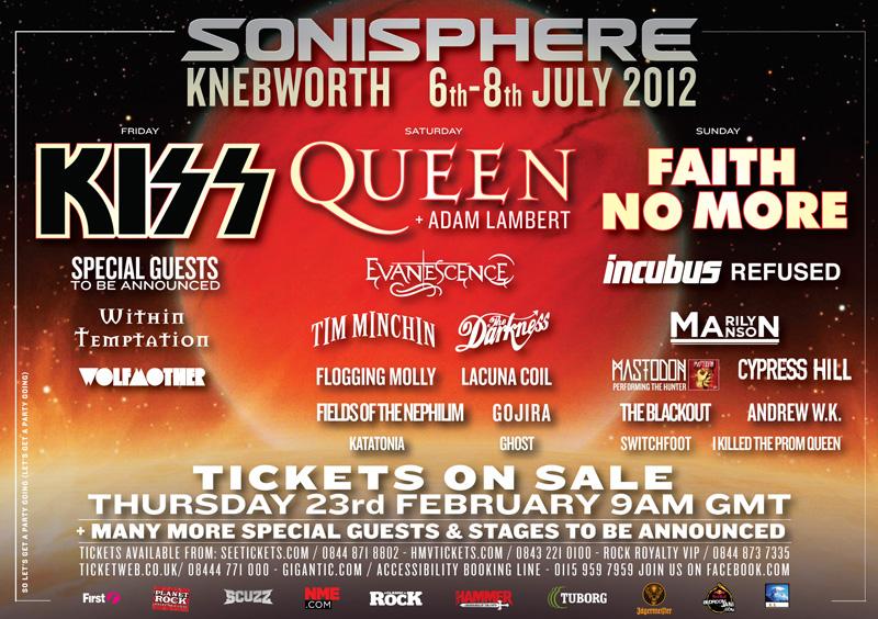 Sonisphere United Kingdom