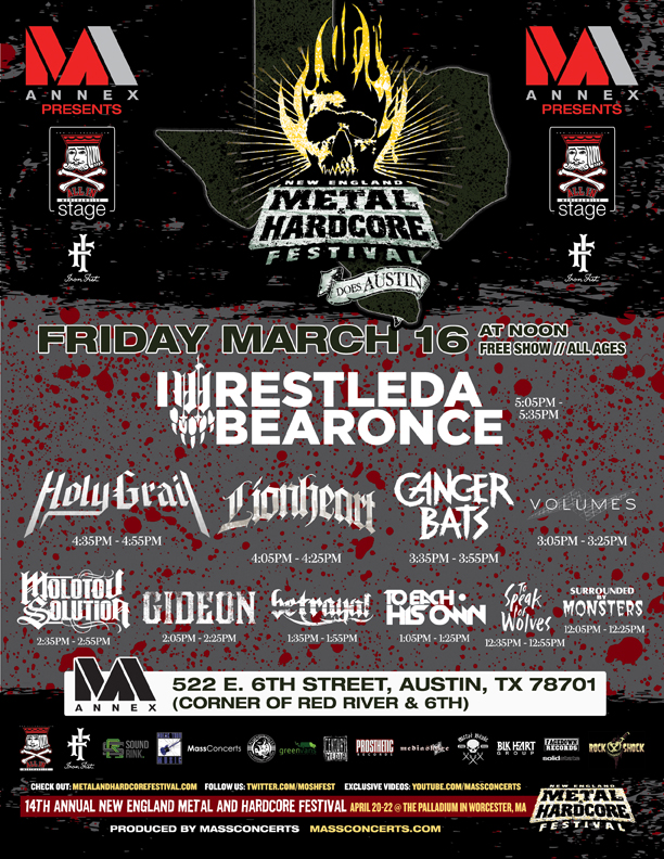 metal and hardcore fest
