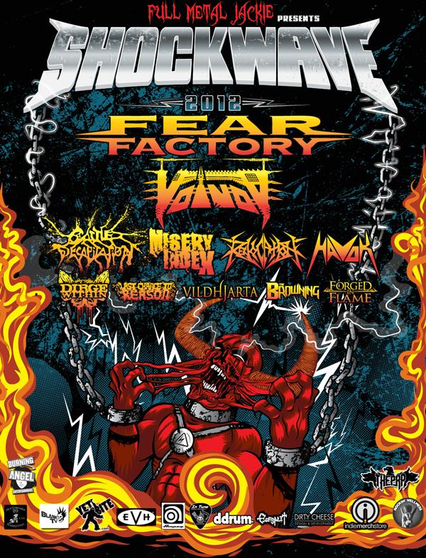 shockwave tour poster