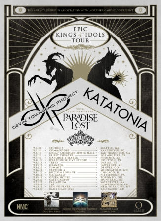 Epic Kings & Idols Tour Flyer