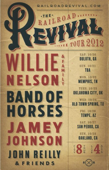 railroad revival tour 2012