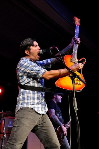 Doomriders' vocalist-guitarist Nate Newton