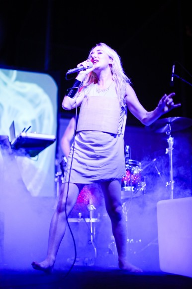 Zola Jesus | Photo: Pamela Lin