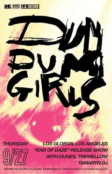dum dum girls los globos