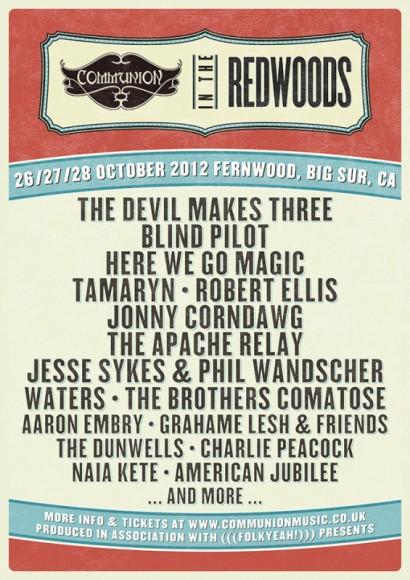 CommunionRedwoods2012Lineup3