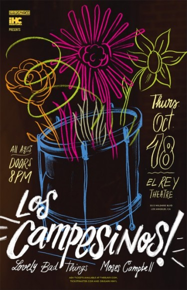 campesinos poster