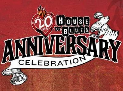 house of blues 20th anniversary