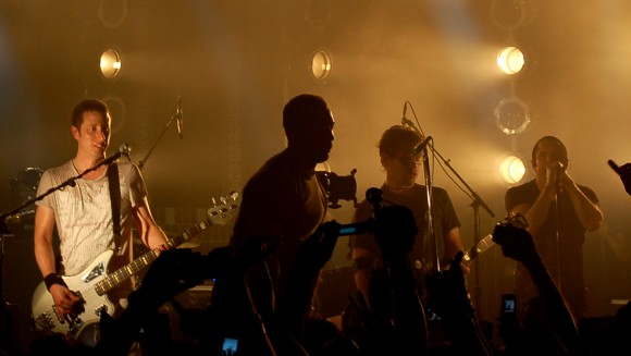 Justin Meldal-Johnsen Live on Stage with Nine Inch Nails and members of the Dillinger Escape Plan in 2006