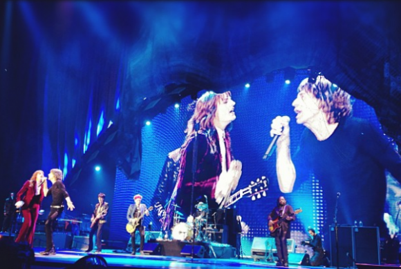 Florence w Rolling Stones