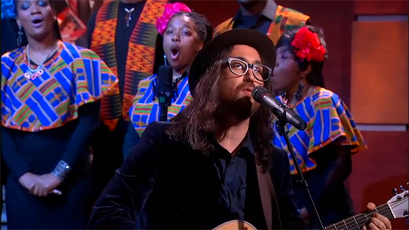 Sean Lennon, Colbert Report