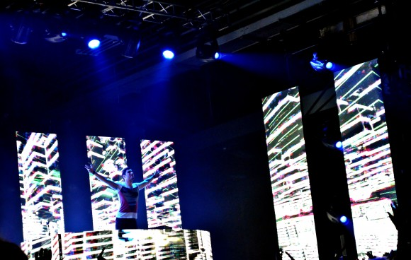 Lights all night featuring artist 3Lau. Taken on December 31st at Fair Park in Dallas. Photographed by Mehreen Rizvi.