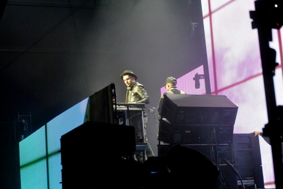 Lights all night featuring artist A-Trak. Taken on December 30th at Fair Park in Dallas. Photographed by Mehreen Rizvi.