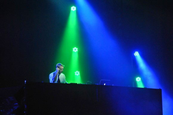 Lights all night featuring artist Diplo. Taken on December 31st at Fair Park in Dallas. Photographed by Mehreen Rizvi.