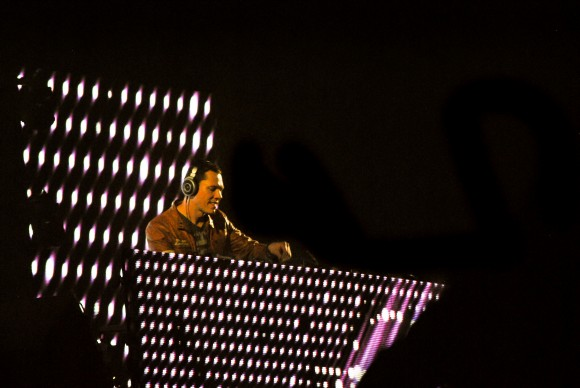 Lights all night featuring artist Tiesto. Taken on December 29th at Fair Park in Dallas. Photographed by Mehreen Rizvi