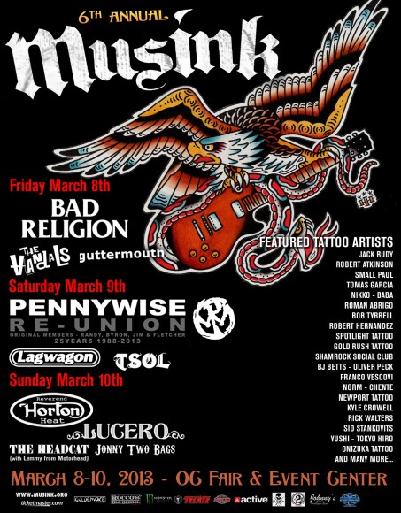 MusInk 2013 Poster