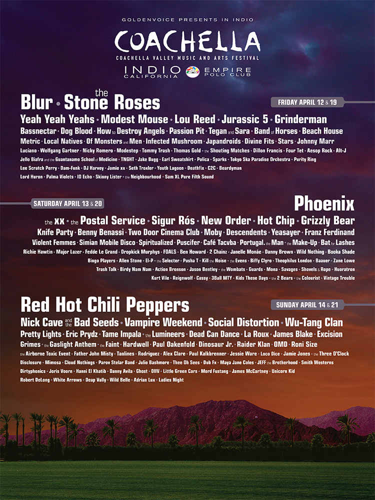 13 Things to Remember for Coachella 2013