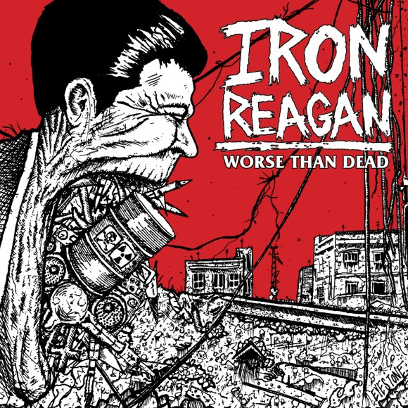 iron reagan album artwork