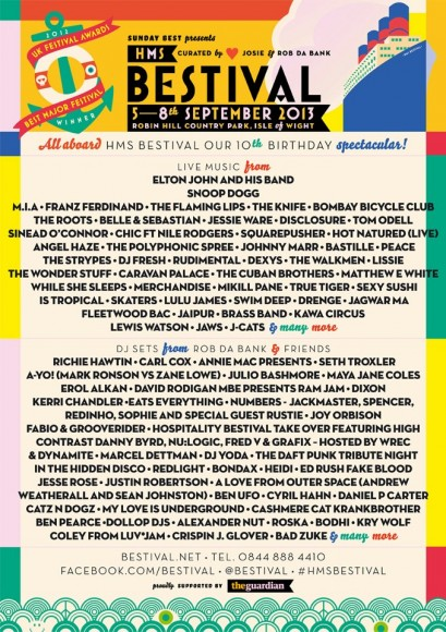 Bestival Poster