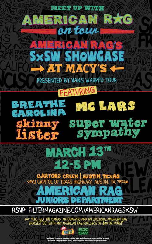 american-rag-in-store-sxsw-flyer-2013